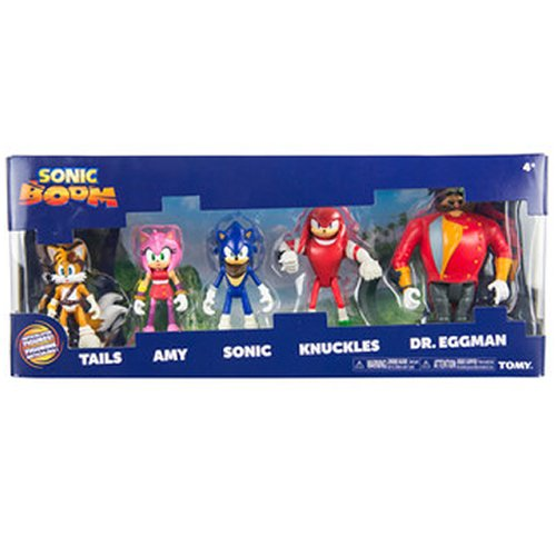 TOMY Sonic Boom Multi-Figure Pack Action Figure (Sonic Amy Toy)