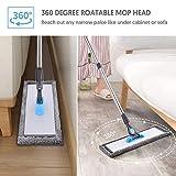 Microfiber Floor Hardwood Mop - MANGOTIME Dust Wet