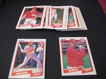 Cincinnati Reds 1990 Fleer Baseball Team Set 24 Cards
