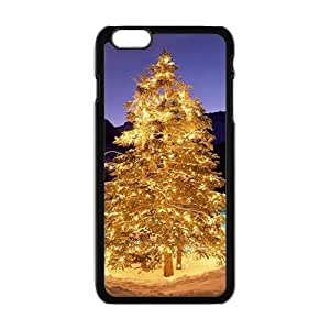 Golden Christmas tree design Phone Case for Iphone 6