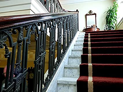 Exceptionnel Home Comforts Canvas Print Vintage Rug Runner Staircase Iron Railing Stairs  Stretched Canvas 10 X 14