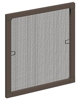 Schellenberg 50730 Insektenschutz-Fenster STANDARD, weiß , 80 x 100 cm 70008