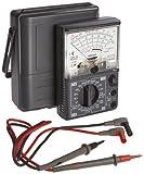 Hioki 3030-10 HiTester Manual-Ranging, Average-Sensing Analog Multimeter, 600V, 3 Kilohms, 300 Milliamp