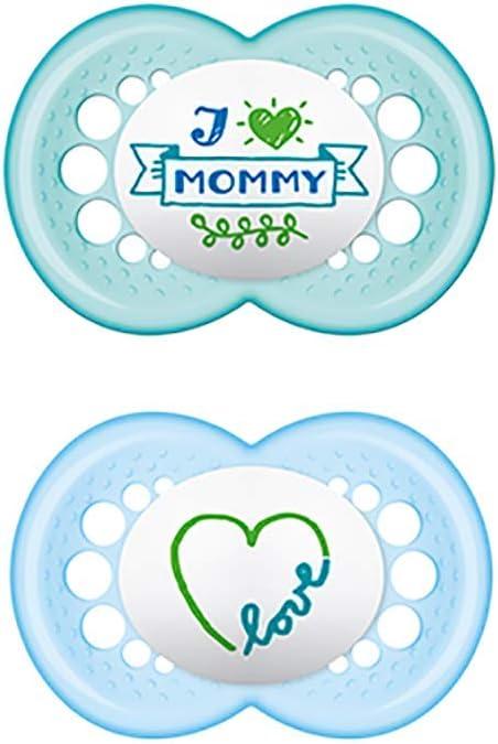 MAM Chupete Original S165 - Chupete con Tetina de Siliciona SkinSoftTM ultrasuave, para Bebé de 6+ meses, Neutro (2 unidades) con caja auto Esterilizadora: Amazon.es: Bebé