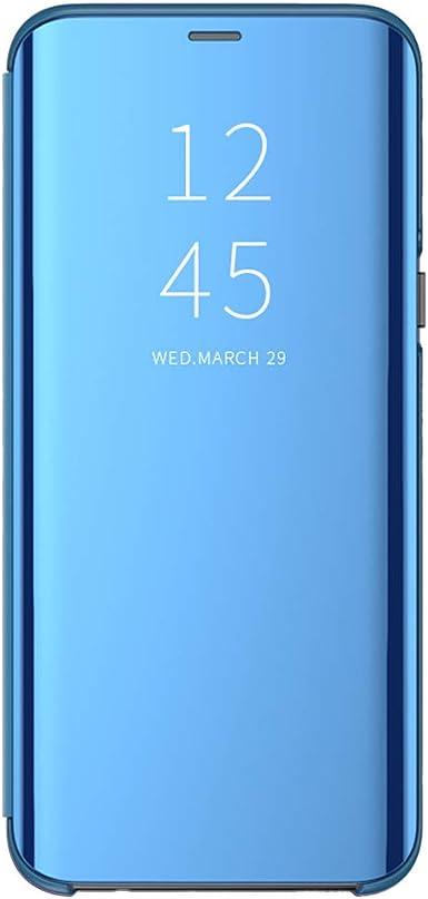 Jeack Funda Compatible con Samsung Galaxy A80 Funda, Espejo ...