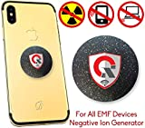 360 Round EMF Protection CELL PHONE Radiation Protection Tesla Technology: EMF Shield WiFi, Laptop-All Devices|Negative Ion|International AWARDS|Anti Radiation Shield.EMF Blocker Neutralizer 1.18 INCH