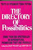 The Directory of Possibilities, Colin Wilson and John Grant, 0831723831