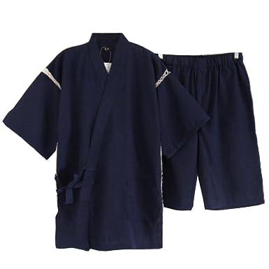Amazon.com: Fancy Calabaza hombre estilo japonés albornoz ...