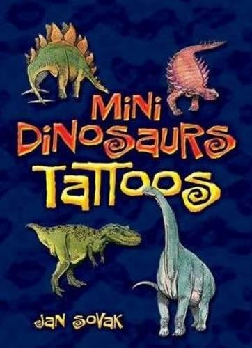Mini Dinosaurs Tattoos (Dover Tattoos) ()