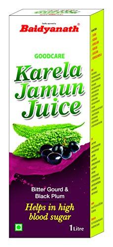 Baidyanath Karela Jamun Juice – Helps Maintain Healthy Sugar Levels – 1L & Baidyanath Haldi Drops – Natural Immunity…