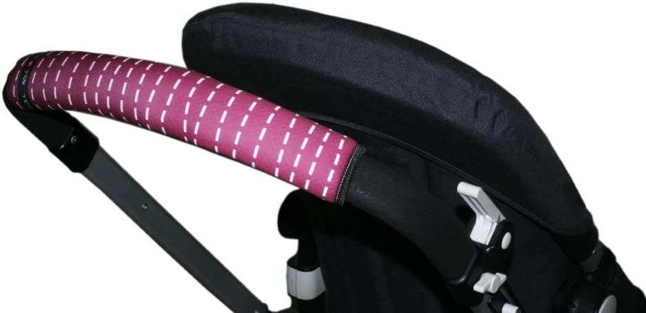 Tris/&Ton Fundas empu/ñaduras horizontales Modelo Mouse empu/ñadura funda para silla de paseo cochecito carrito carro White Tris y Ton