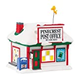 Department 56 Peanuts Village Pinecrest Post Office Lit House, 5.31 In