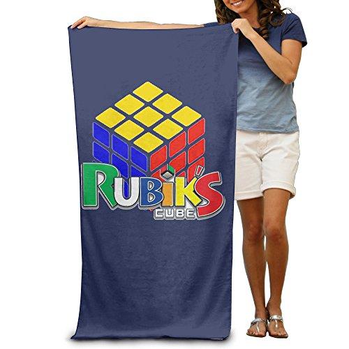 LCYC Rubik's Cube Adult Vibrant Beach Or Pool Hooded Towel 80cm*130cm