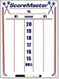 Scoremaster Dry Erase Cricket Dart Scoreboard (Medium)