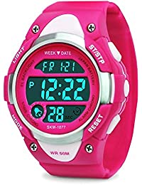 Girls Digital Watch - Kids Sports Waterproof Outdoor...