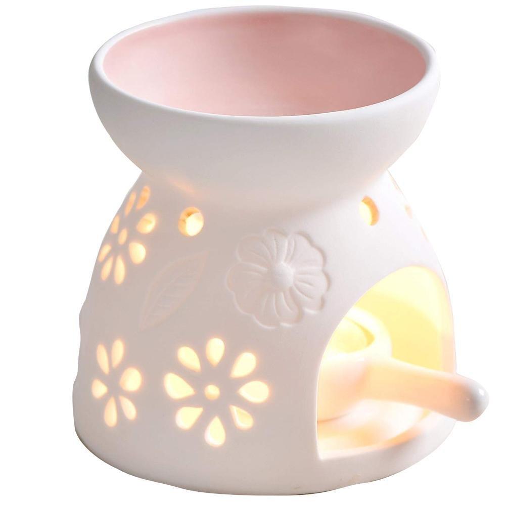 supporto di candela del Tealight Set regalo lampada profumata Set regalo lampada Bruciatore di olio essenziale del supporto di candela bruciatore a olio della libellula del regalo e della casa