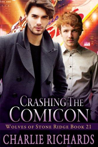 Crashing the Comicon (Wolves of Stone Ridge Book 21)