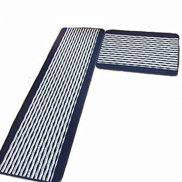 Ustide Kitchen Rug Set,kitchen Floor Rug Washable Floor Runner Stripe  Pattern Floor Runner Rugs