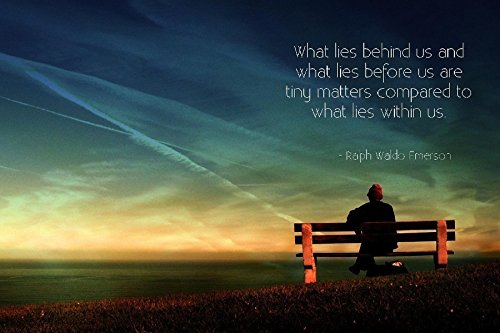 Ralph Waldo Emerson Quotes Motivational Inspirational Poster For Home Decorative painting Pictures and printings