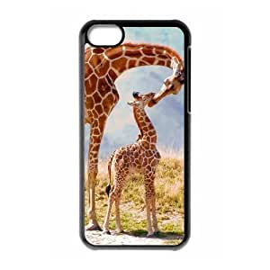 linJUN FENGProtection Cover Hard Case Of Giraffe Cell phone Case For iphone 4/4s