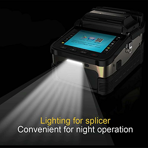 Optic Fiber Fusion Splicer with Core Alignment Auto Focus and Six Motors industrial quad-core CPU by YM (Image #2)