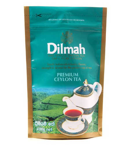 Dilmah Premium Ceylon Tea BOPF 400g Loose Black Tea (Tea Black Highland Tea)