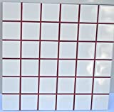 Wine Red Sanded Tile Grout - 25 lbs