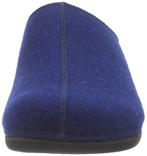 Berkemann Lorena - zuecos de fieltro mujer azul (blau 380)