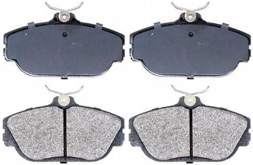 Raybestos SGD601M Service Grade Semi-Metallic Disc Brake Pad Set