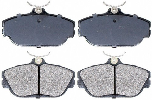 Raybestos SGD601M Service Grade Semi-Metallic Disc Brake Pad Set