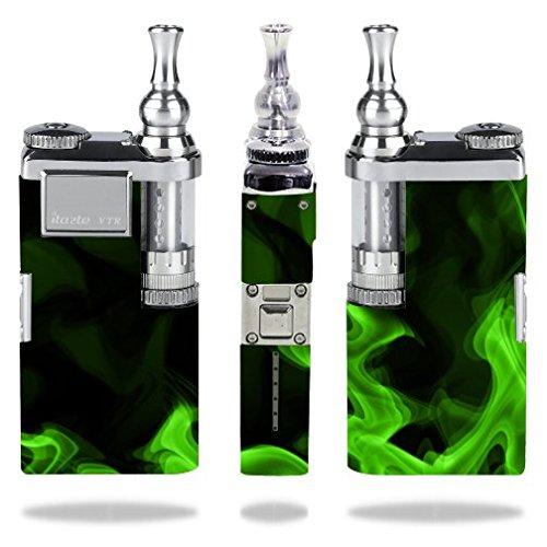 Innokin-itaste-VTR-Vape-E-Cig-Mod-Box-Vinyl-DECAL-STICKER-Skin-Wrap-Green-Smoke