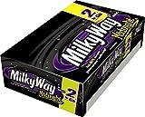 MILKY WAY Midnight Dark Chocolate Sharing Size Candy Bars 2.83-Ounce Bar 24-Count Box