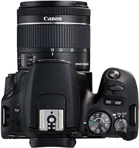 Canon EOS 200D Fotocamera Digitale Reflex con Obiettivo EF-S 18-55mm f/4-5.6 IS STM, Nero 4 spesavip