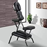 Yaheetech Portable Tattoo Spa Massage Chair Leather Pad Travel...