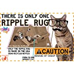 SnugglyCat The Ripple Rug - Made in USA - Cat Activity Play Mat - Thermally Insulated Base - Fun Interactive Play - Training - Scratching - Bed Mat 11