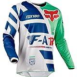 Fox Racing 180 Sayak Men's Off-Road Jersey - Green / X-Large