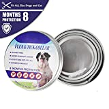 Yinrunx Flea and Tick Collar for Dogs - Enhanced with Natural Essential Oils