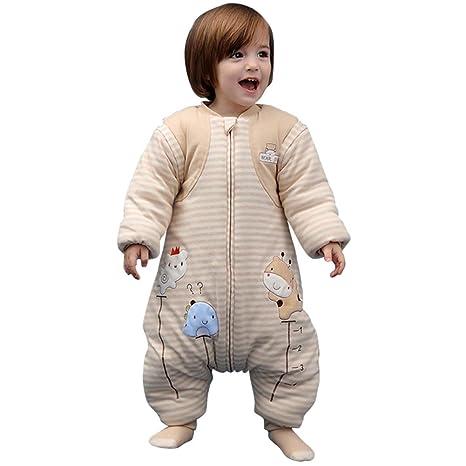 Saco de dormir con cremallera para bebé, para invierno o bebé, saco de dormir
