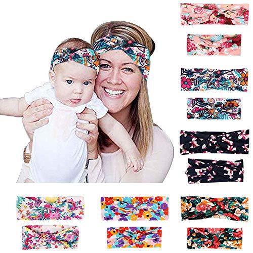 Yukoi 12PCS Mom Headbands...