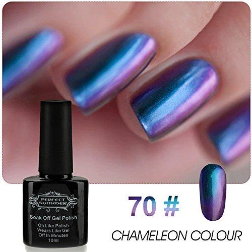Perfect Summer Chameleon Colour Gel Nail Polish Soak Off UV