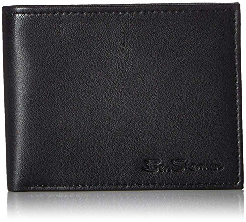 Ben Sherman Kensington Sheepskin Leather Passcase Wallet in - Buy Sherman Ben