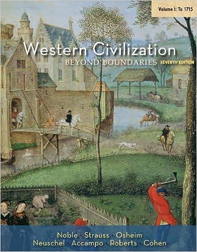 Amazon western civilization beyond boundaries volume i to western civilization beyond boundaries volume i to 1715 7th edition kindle edition fandeluxe Choice Image