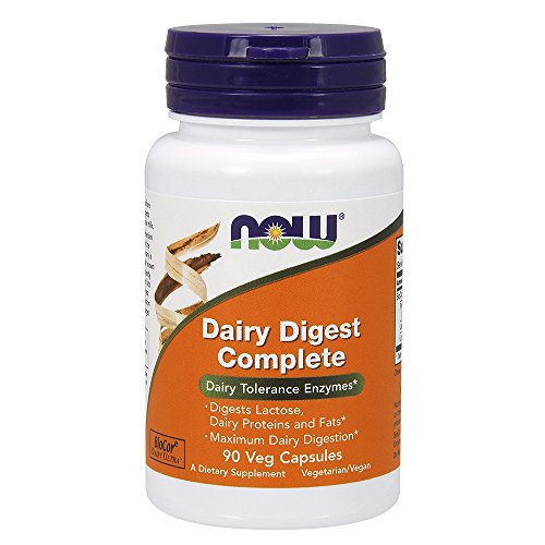 NOW Dairy Digest Complete Capsules
