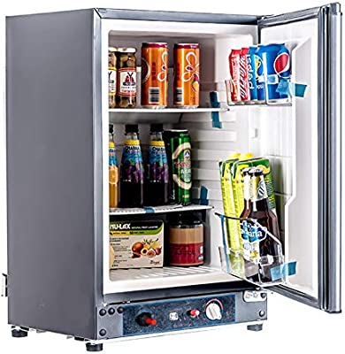 SMAD AC/DC Nevera compacta/GLP Propano Gas RV frigorífico: Amazon ...