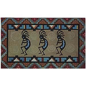 Stylish Southwest Kokopelli Door Mat