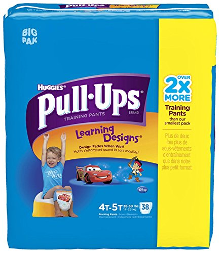Huggies Pull-Ups Training Pants - Learning Designs - Boys - 4T-5T - 38 ct