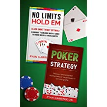 """Poker Books: Two of the best poker books written. Master game theory optimal and mathematic formula to win any game! This Bundle includes """"Game Theory Optimal"""" and """"Poker Strategy"""""""