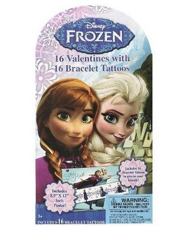 16-disney-frozen-valentines-with-16-bracelet-tattoos-and-bonus-poster