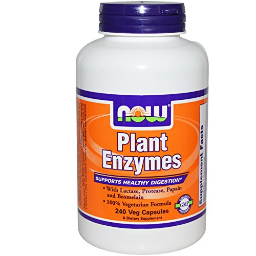 Plant Enzymes 240 VegiCaps (Now Foods Plant Enzymes)