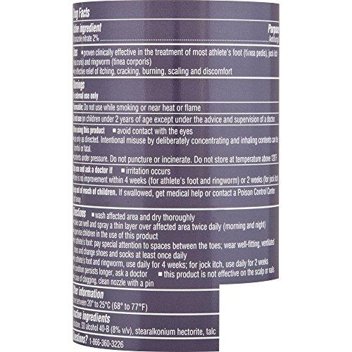 Lotrimin AF Athletes Foot Powder Spray, 4 6 oz  (Pack of 3)